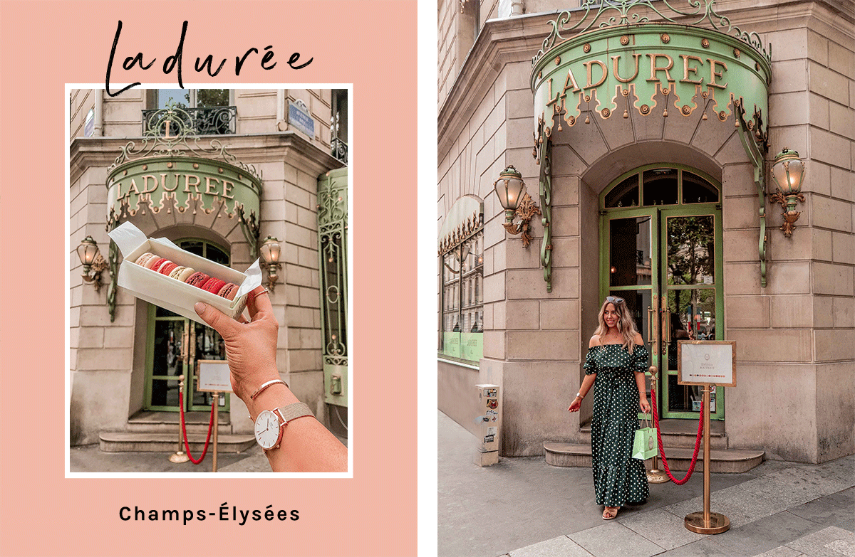 20-Best-Paris-Photography-Locations-Instagram-Spots-Pink-Mamma-@kelseyinlondon-Kelsey-Heinrichs--Ladurée-Paris-Champs-Elysées