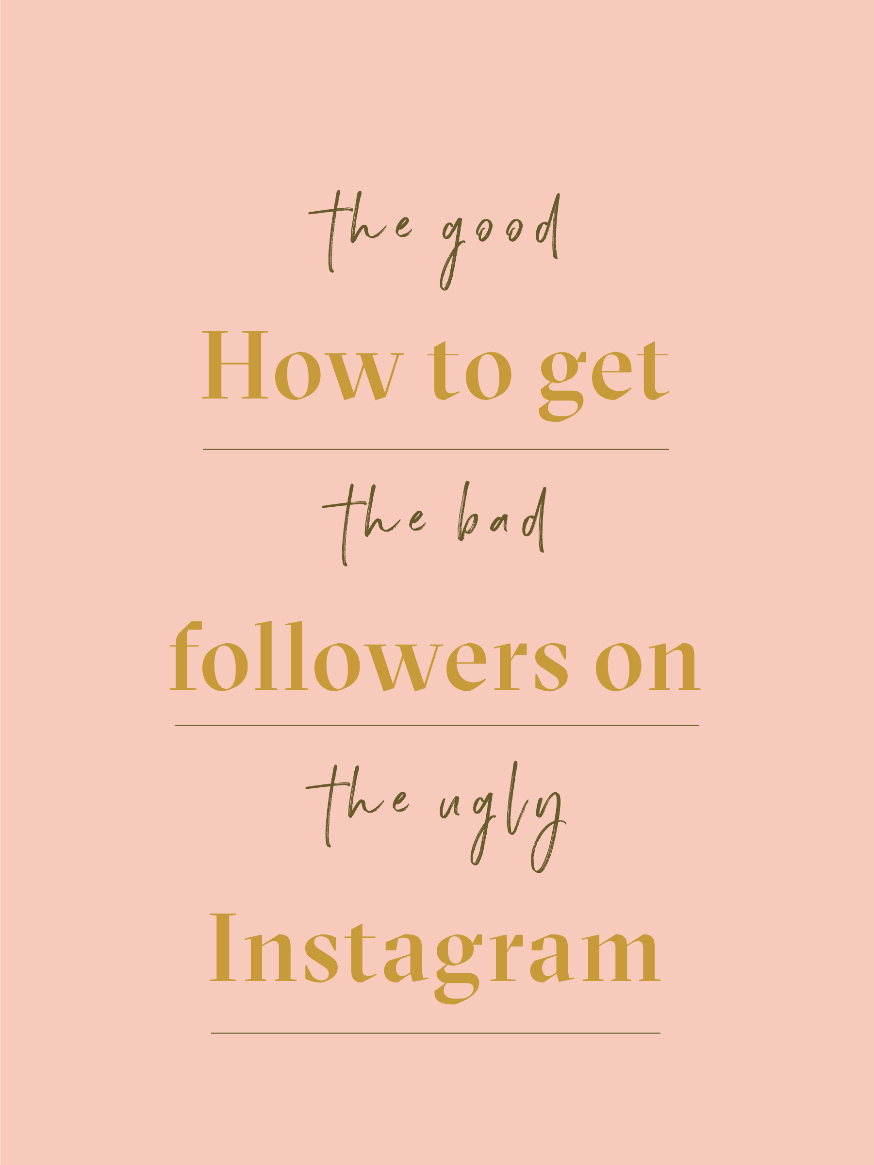 10 ways to get Followers on Instagram: The No Bullshit Guide
