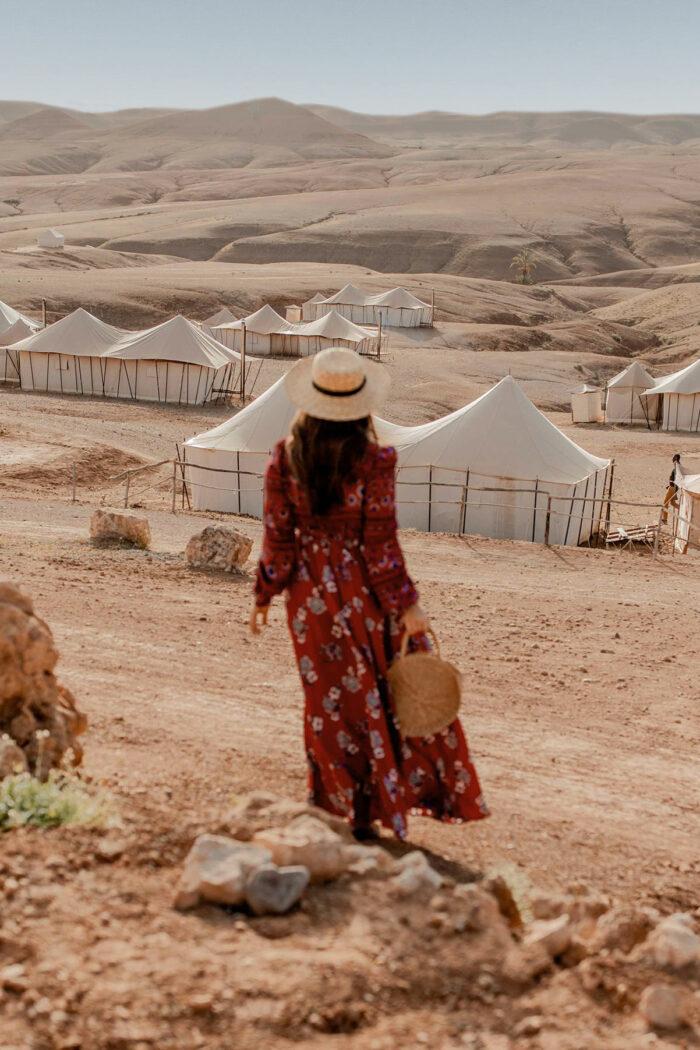 Review: Glamping at Scarabeo Desert Camp