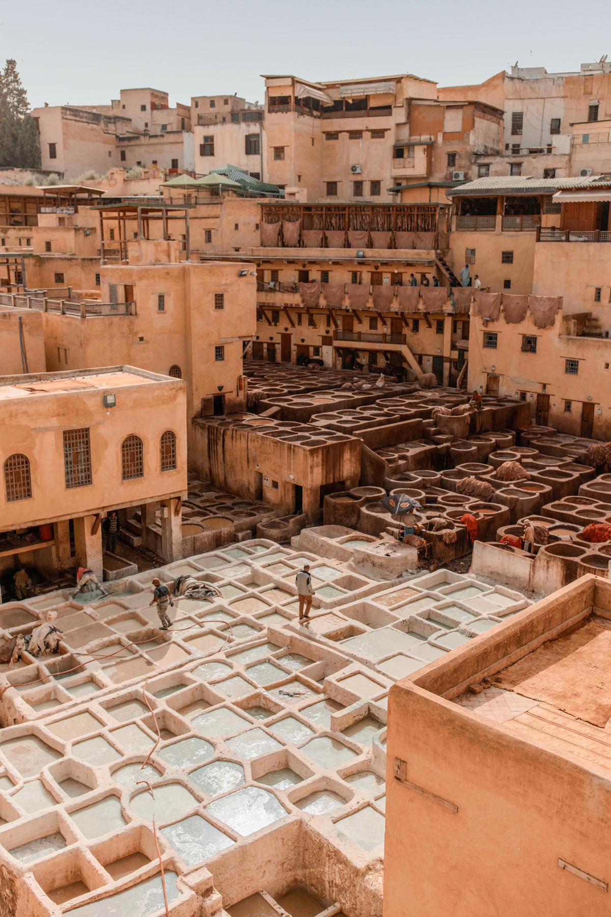 Top-things-to-do-in-Fez-Bucket-list-kelseyinlondon-Kelsey-Heinrichs--What-to-do-in-Fez--Where-to-go-in-Fez-top-places-in-Fez-Chouara-Tannery