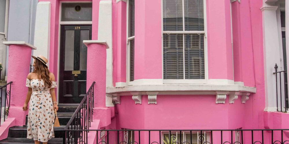 kelseyinlondon kelsey heinrichs london instagram spots notting hill guide adobe