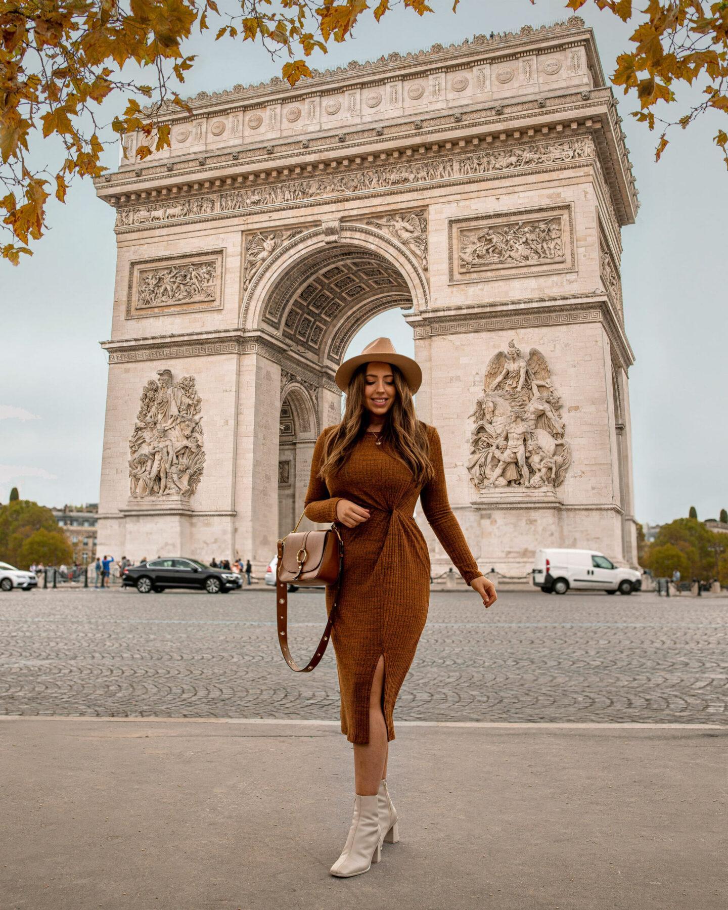 Paris Instagrammable Locations kelseyinlondon kelsey heinrichs things to do in Paris bucketlist Arc de Triomphe