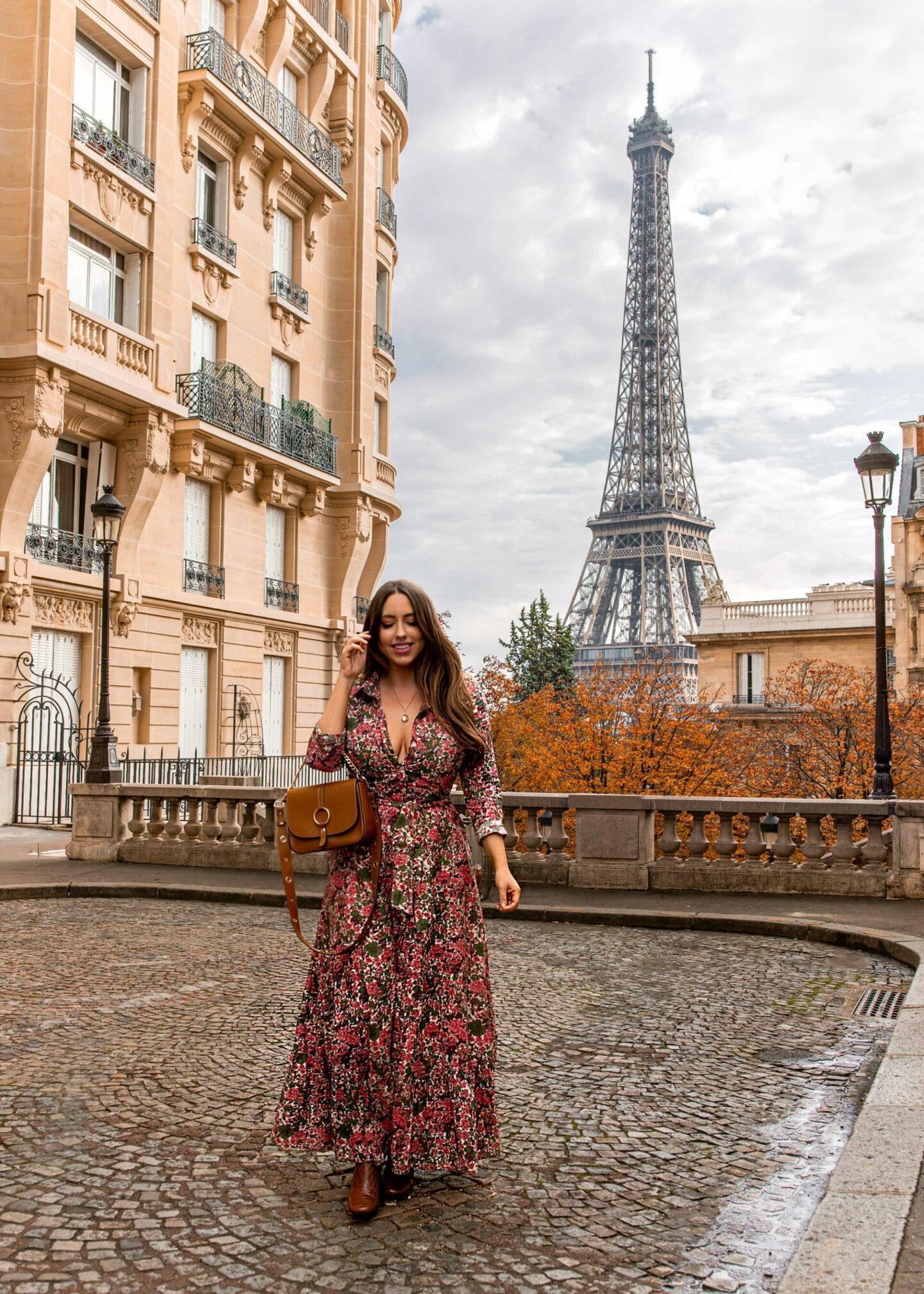 Paris Instagrammable Locations kelseyinlondon kelsey heinrichs things to do in Paris bucketlist Avenue de Camoëns