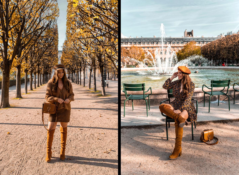 Paris Instagrammable Locations kelseyinlondon kelsey heinrichs things to do in Paris bucketlist Jardin du Palais Royal