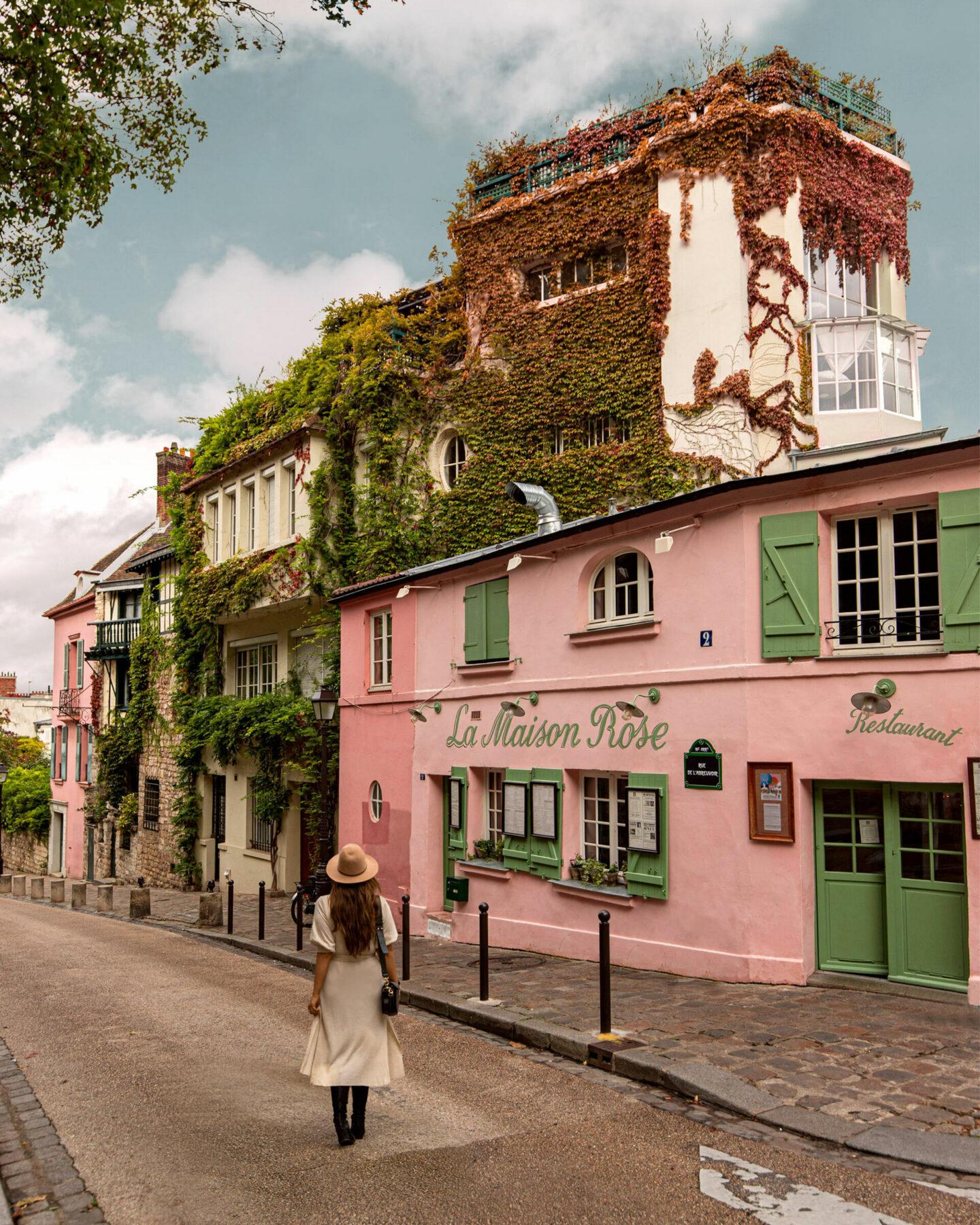 Paris Instagrammable Locations kelseyinlondon kelsey heinrichs things to do in Paris bucketlist La Maison Rose