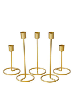 Set of 5 Candle Holders